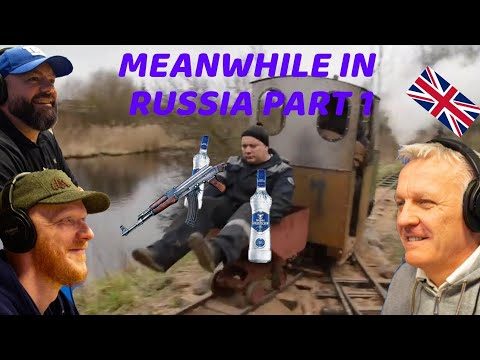 Meanwhile in Russia Part 1 REACTION!! | OFFICE BLOKES REACT!!