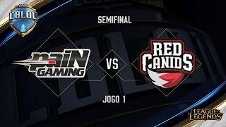 paiN x Red Canids (Jogo 1 - Semifinais) - Primeira Etapa CBLoL 2017