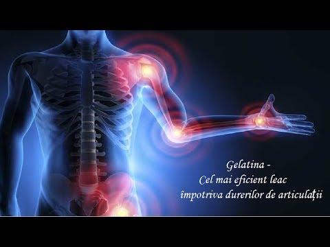 tratamentul cu gelatină pentru artrita artroză