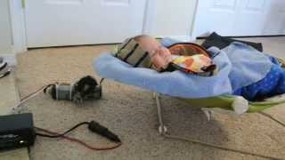 Homemade Automatic Baby Rocker