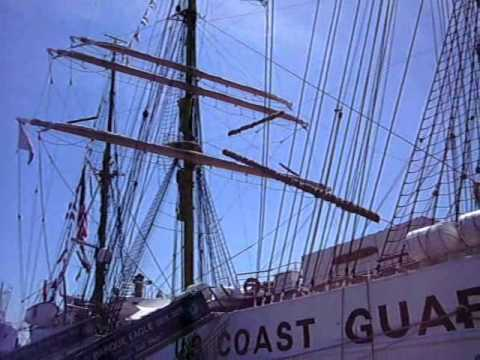 Windjammer USCGC Eagle Hamburg  03.06.2011
