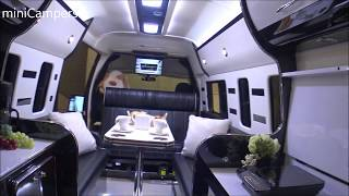 The  Japanese LUXURY camper Vans 2018 キャンピングカー