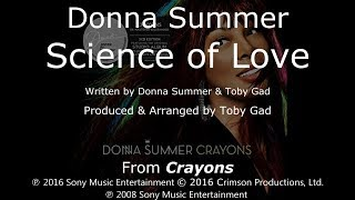 "Donna Summer - Science Of Love LYRICS - SHM ""Crayons"" 2008"