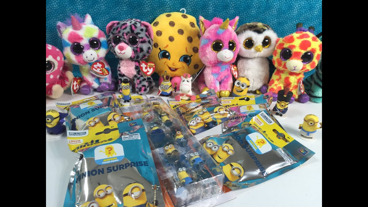 Minions Movie Blind Bag Walmart Exclusive Unboxing Plus Giveaway