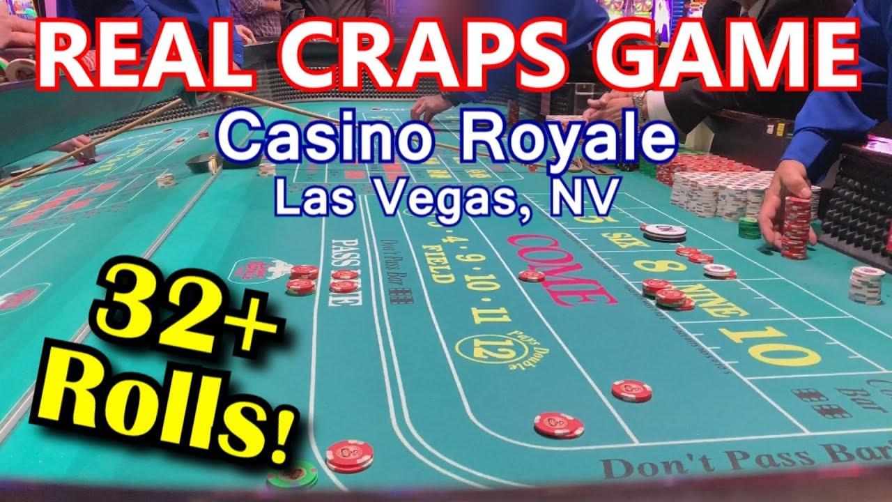 Live Craps Game #22 - MONSTER 32+ ROLLS! - Casino Royale, Las Vegas, NV - Inside the Casino