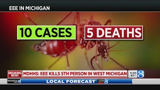 MDHHS: EEE kills 5th person in West Michigan