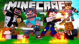 Minecraft Monday $10,000 HUNGER GAMES Tournament [Week 1]