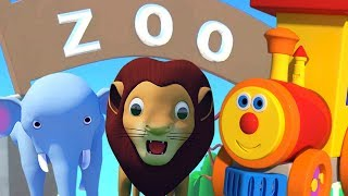 Ben Going To The Zoo | Kindergarten Songs And Videos For Kids