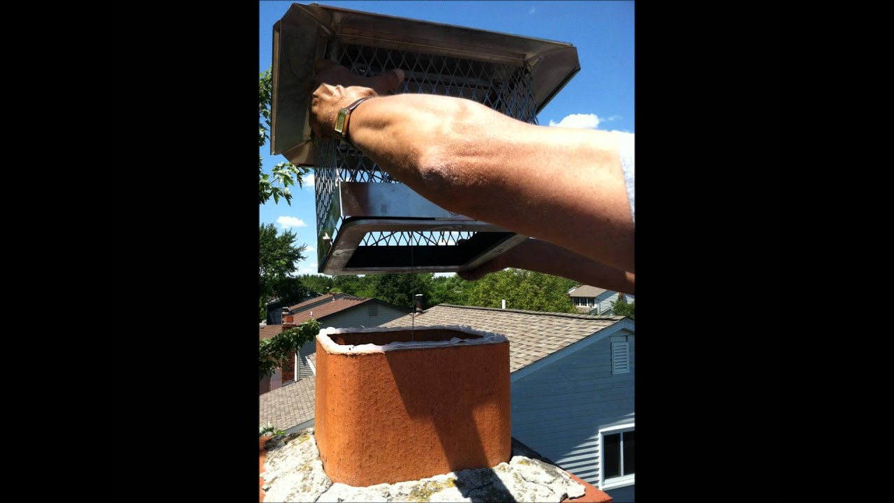 Installing A Top Lock Chimney Damper by Rockford Chimney Supply ...