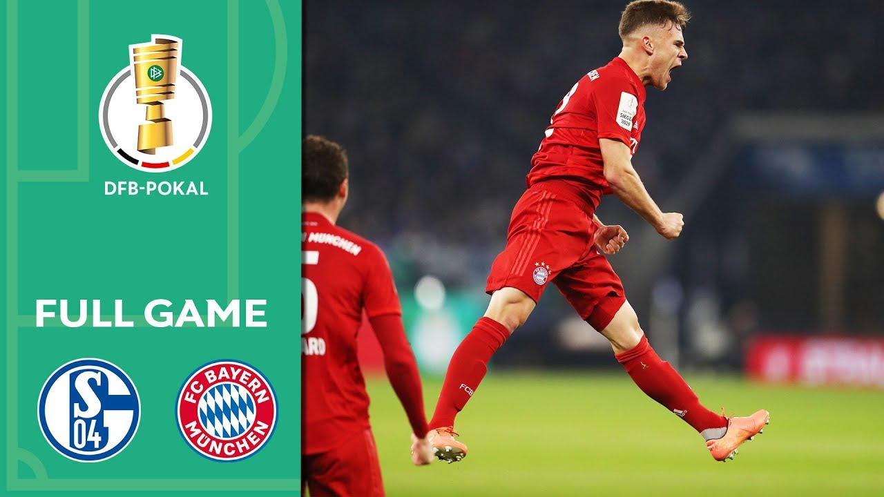 FC Schalke 04 vs. FC Bayern Munich 0-1 | Full Game | DFB ...
