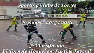 "Afonso ""Zorro"" #44 - Hóquei em Patins - S.C.T - 2015/2016"