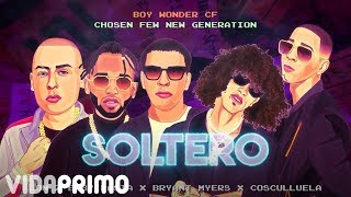 Jon Z ❌ Baby Rasta ❌ Bryant Myers ❌ Cosculluela ❌ Boy Wonder CF - Soltero [Video Lyric]