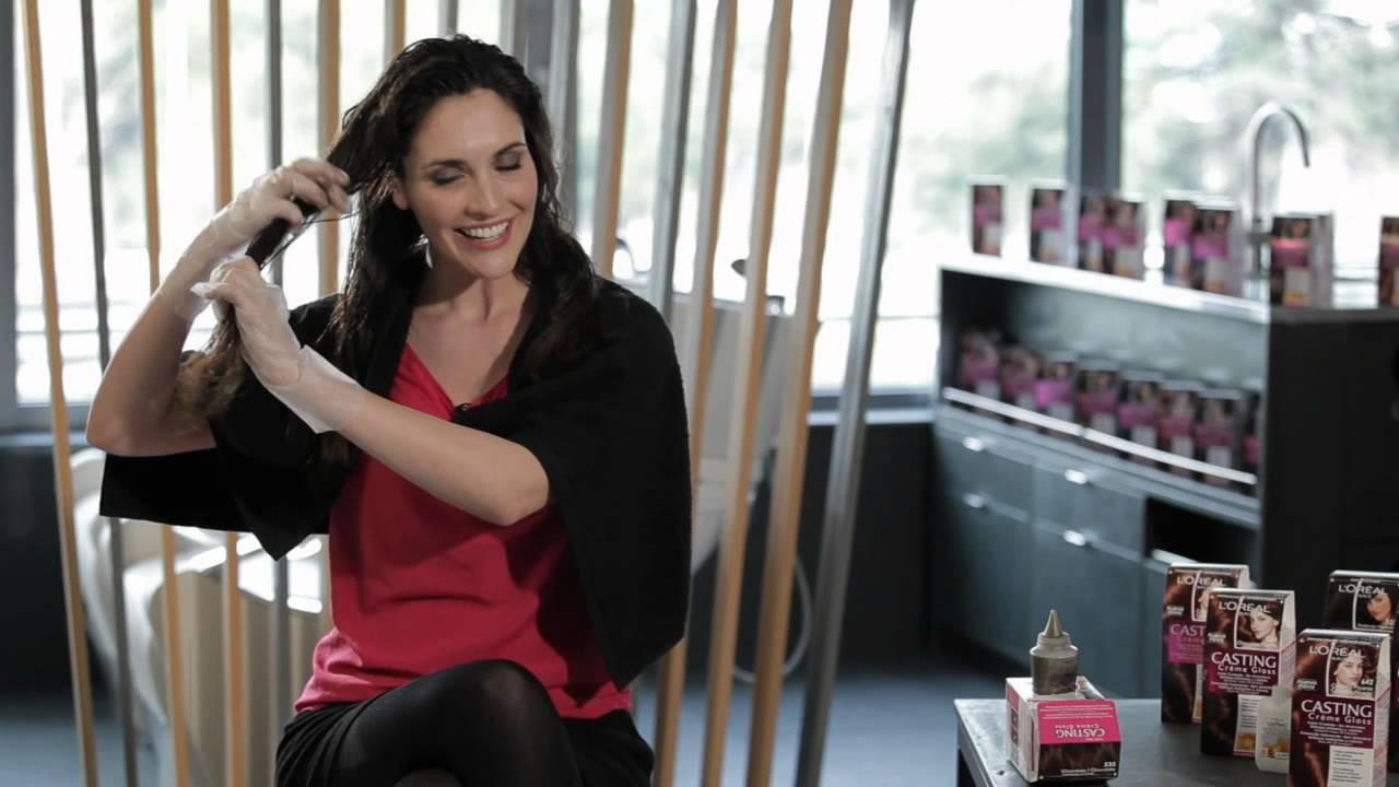 Descubre cómo Teñirte el Pelo con Casting Creme Gloss de L Oréal Paris. -  YouTube 280d793838cc