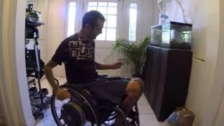 C5 Quadriplegic Picking Up Off The Floor W/o Finger Function