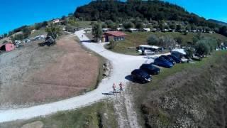 Camping Perticara drone video HD