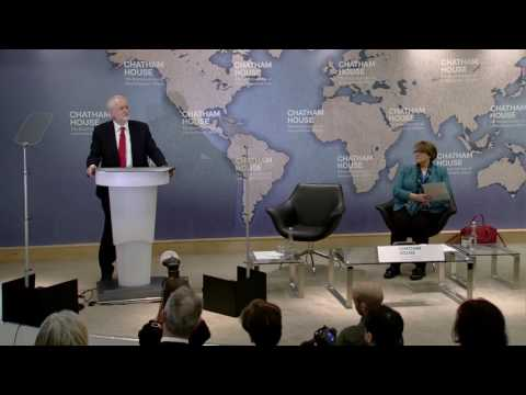 Jeremy Corbyn on Labour's Defence and Foreign Policy Priorities