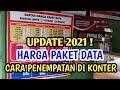 - Yuk Update Harga Paket Data & Tempat Penataan Di Konter