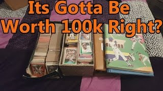 Found My Old Baseball Card Collection