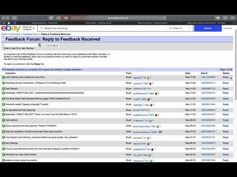 How To Request Feedback Revision For Negative Neutral Ebay Fb Youtube