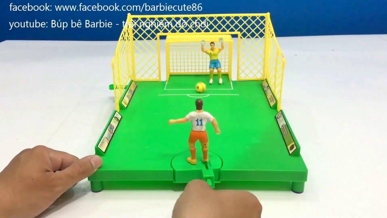 trải nghiệm đồ chơi đá banh , bóng đá dành cho 2 người | game đá bóng hay