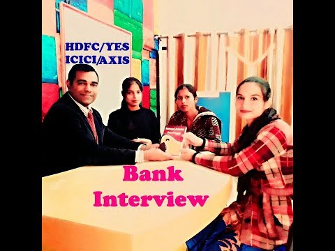 Bank Interview Questions and Answers for Fresher - HDFC - AXIS - ICICI - YES BANK