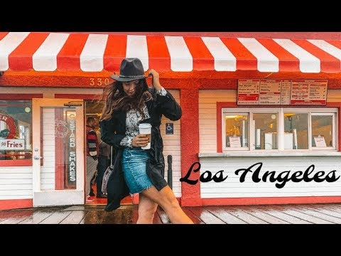LOS ANGELES VLOG // LA VIDA DE UNA AZAFATA DE VUELO ✈️