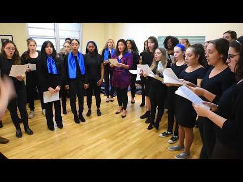 Ailyn Pérez & the Women's Choir at Kaufman Music Center's Special Music School High School