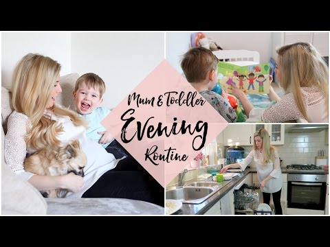 MUMMY & TODDLER EVENING ROUTINE | KATE MURNANE AD