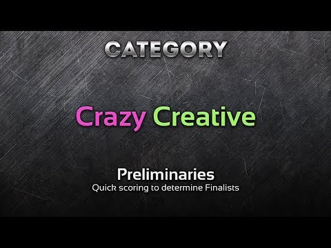 Car Design Competition: Crazy / Creative (Preliminaries)