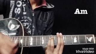Download Hindi Video Songs - Zindagi - Akhil | Guitar Cover with Chords | Bilal Ahmed