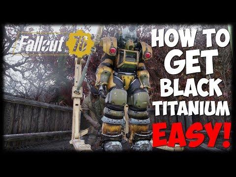 How To Get Black Titanium Scrap EASY! | Fallout 76