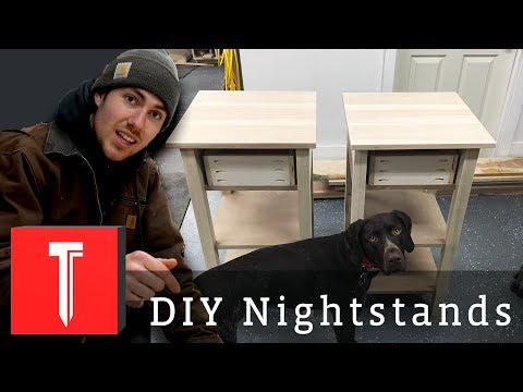 Modern Farmhouse Nightstands! || Legs and Stretchers