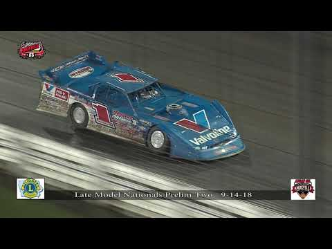 Knoxville Raceway Late Model Nationals 9-14-18 Prelim #2