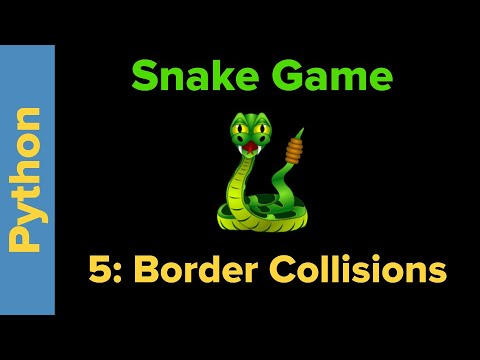 Snake Game in Python Part 5