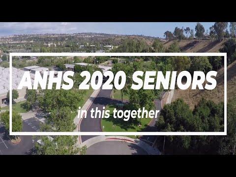 2020 Aliso Niguel High School Senior Recognition Video