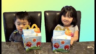 McDonalds Happy Meal with Transformers and My Little Pony Toys
