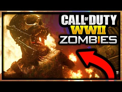 Call of Duty WW2 ZOMBIES FULL LIVESTREAM! (Call of Duty World War 2 ZOMBIES GAMEPLAY TRAILER REVEAL)