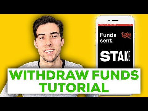 STAKE App | How to Withdraw Funds and Sell Stocks (FEES EXPLAINED) | Step by Step Tutorial