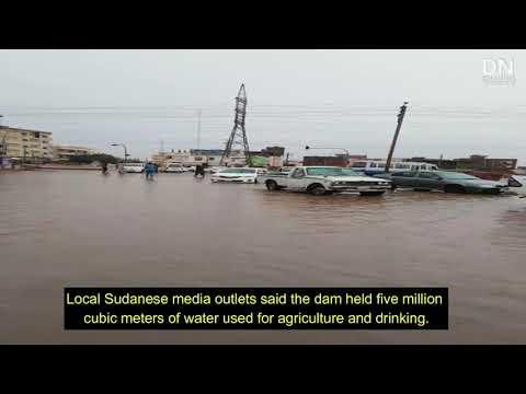 Heavy rainfall flood eastern parts of Sudan capital - August 1, 2020