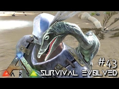 ARK: Survival Evolved - COMPSOGNATHUS NEW DINO COMPY!!! [Ep 43] (Server Gameplay)