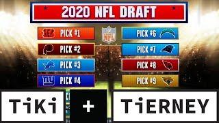 NFL Draft Predictions | Tiki + Tierney