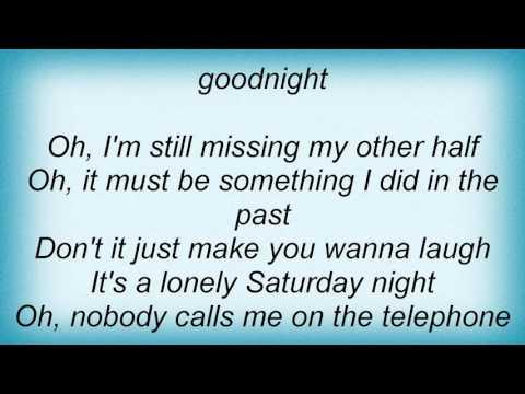 Lou Reed - Goodnight Ladies Lyrics