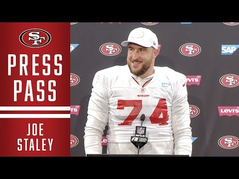 Joe Staley: 'Practicing Against Nick Bosa Makes Me Better' | 49ers