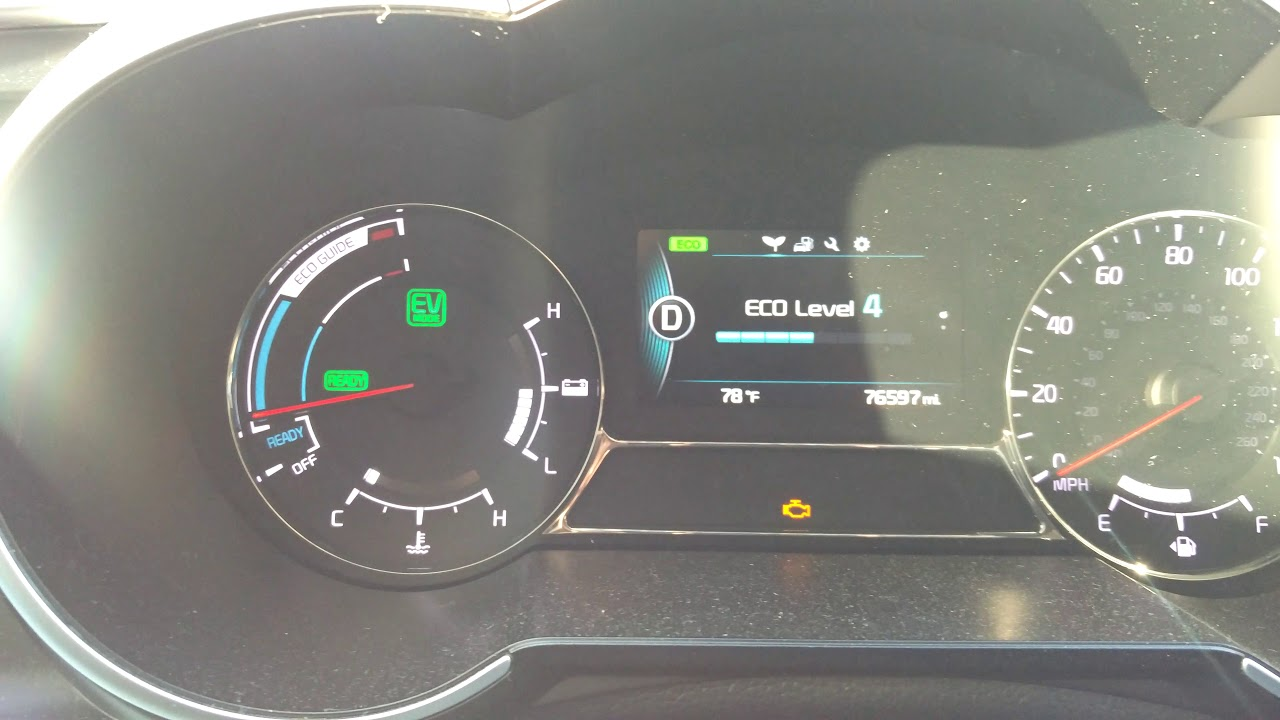 2017 Kia Optima Hybrid Battery Malfunctioning