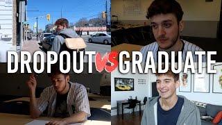Video College Dropout vs. College Graduate download MP3, 3GP, MP4, WEBM, AVI, FLV Oktober 2018