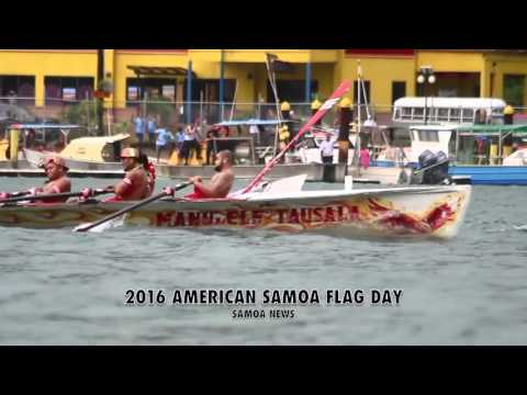 2016 American Samoa Flag Day Festivities
