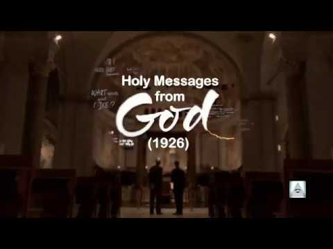 HOLY MESSAGE FROM GOD: The Coming of God