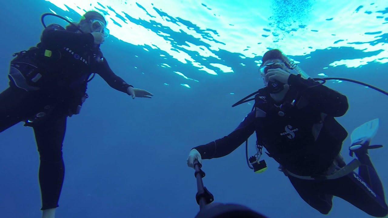 The Descent for Scuba Diving