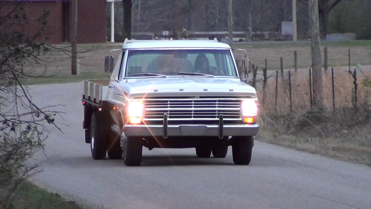 1969 ford f350 video 1