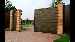 видео Секреты установки распашных ворот
